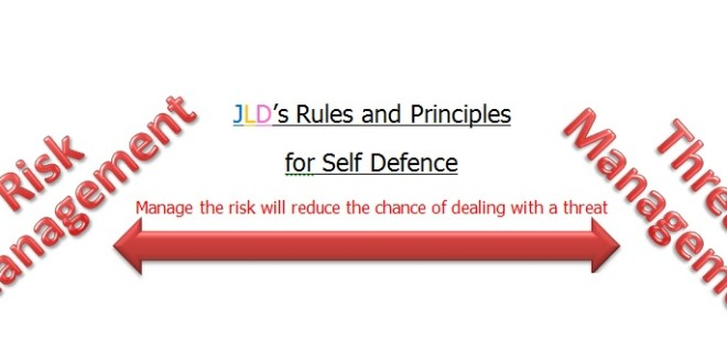 JLD's Rules and Principles for Self-Defence